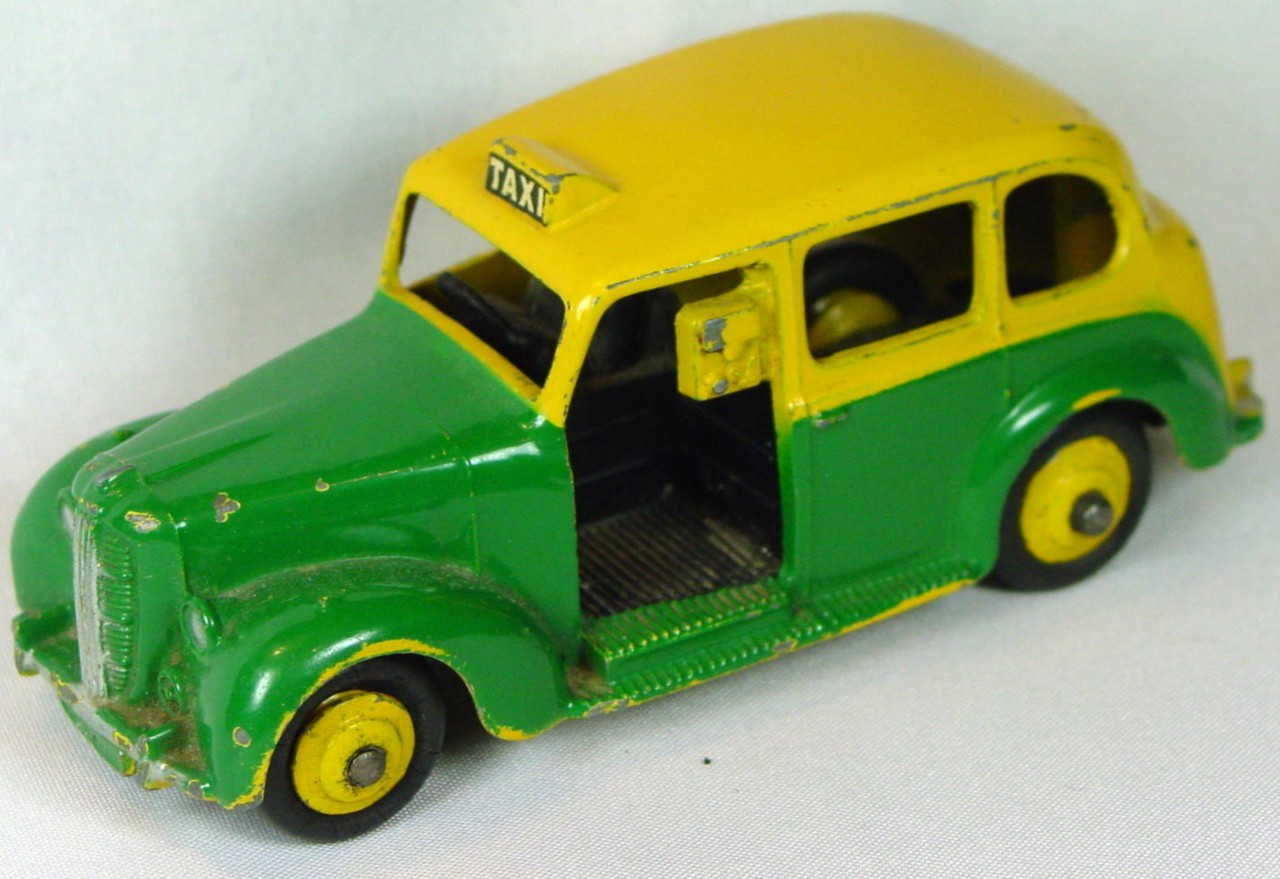 Dinky 254 - Austin Taxi Green/Yellow