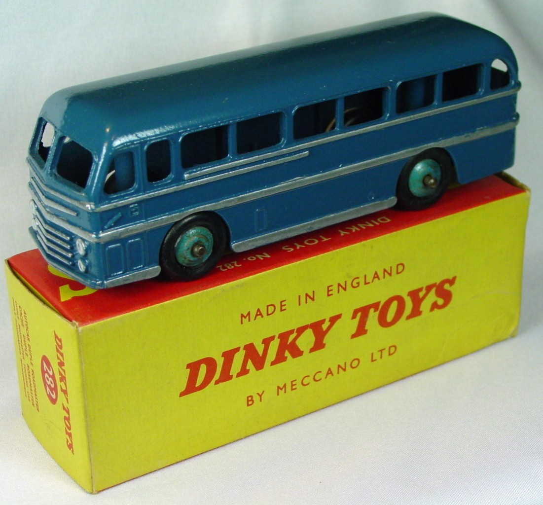 Dinky 282 - Duple Coach Blue C9 box