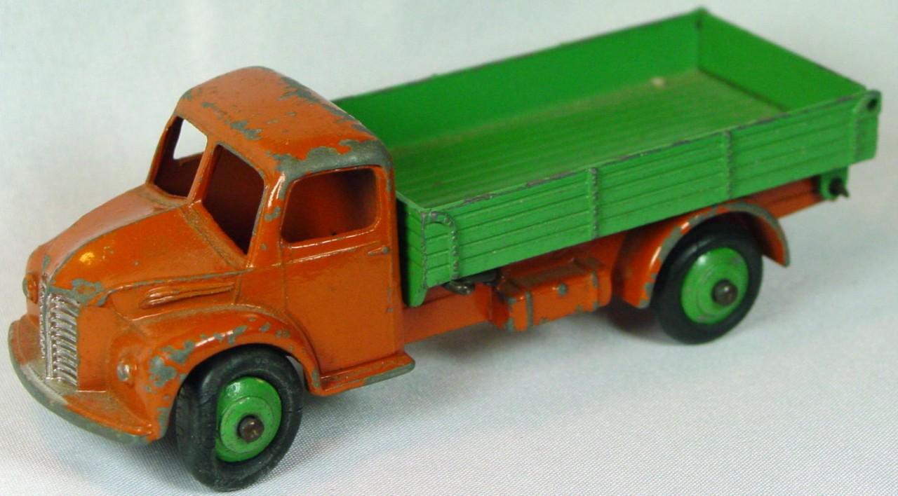 Dinky 30 M - (414) Dodge Dumper Orange and green green hubs