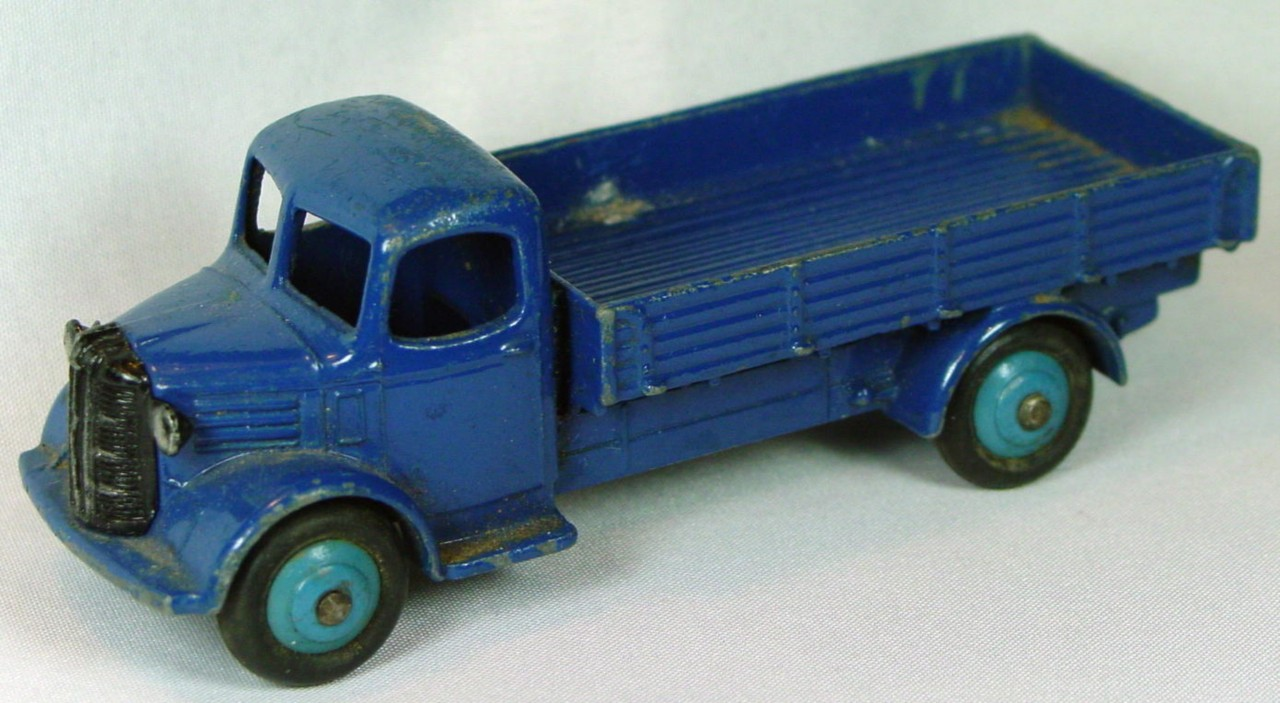 Dinky 30 S - Austin Covered Truck Blue blue hubs -cover