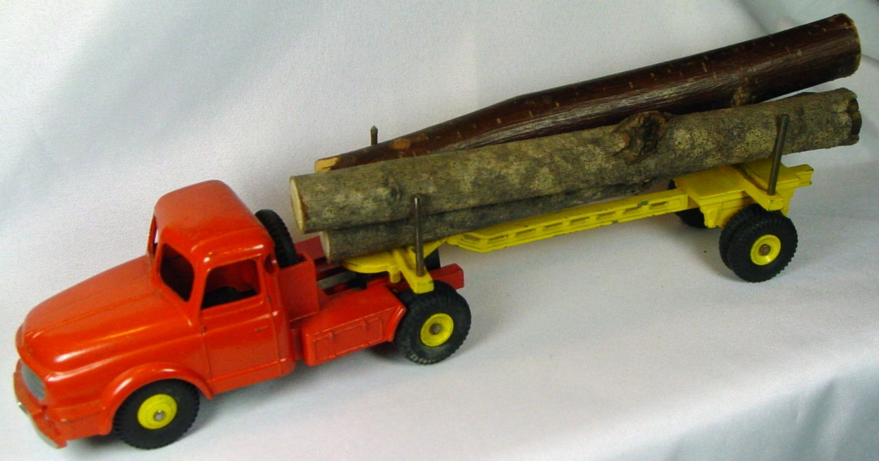 Dinky 36 A - (897) Willeme Log Truck