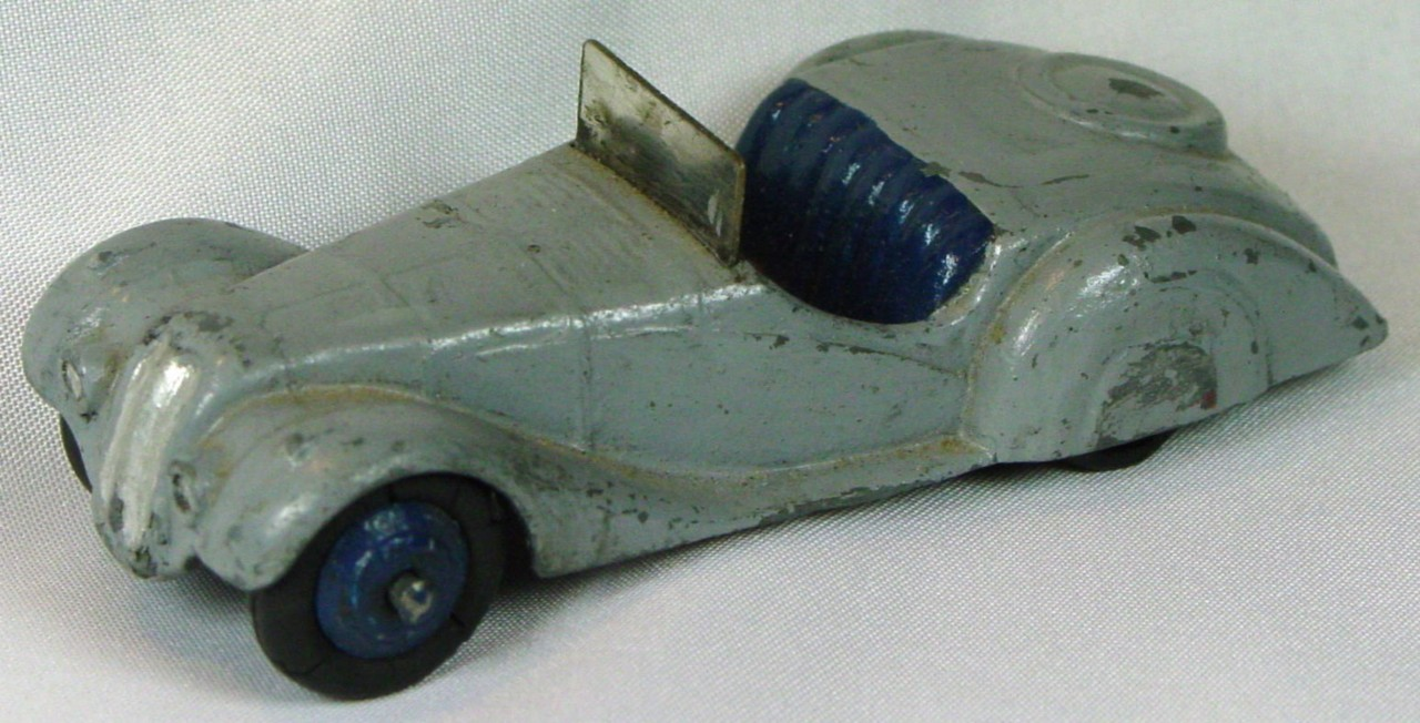 Dinky 38 A - Frazier-Nash Grey blue seats blue hubs
