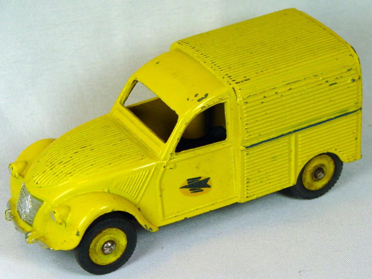 Dinky 560 - Citroen Mail Truck Yellow