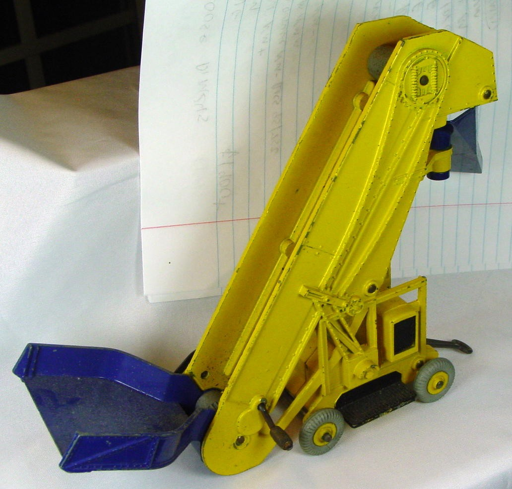 Dinky 564 - (964)Elevator Loader yellow and blue