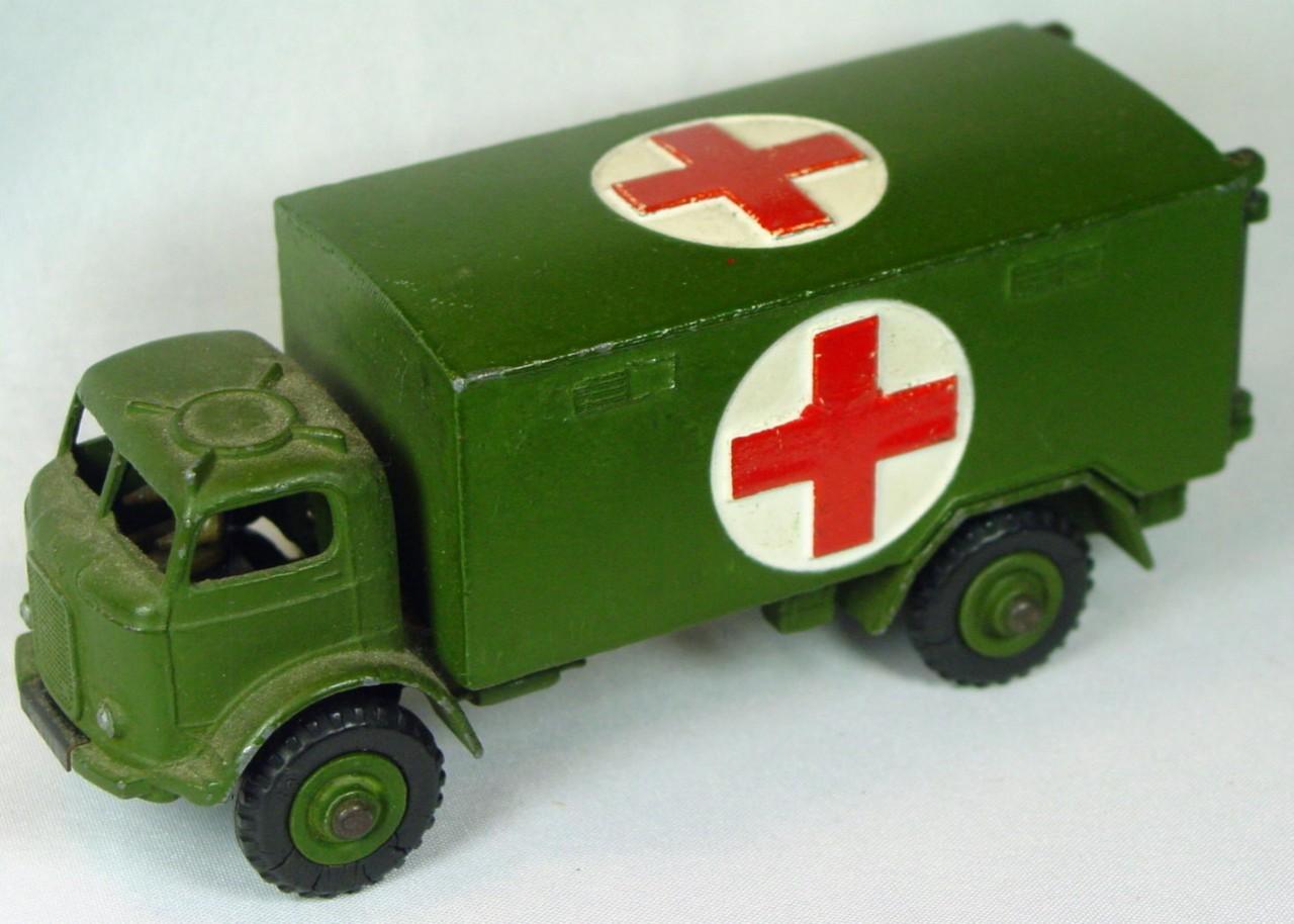 Dinky 626 - Military Ambulance
