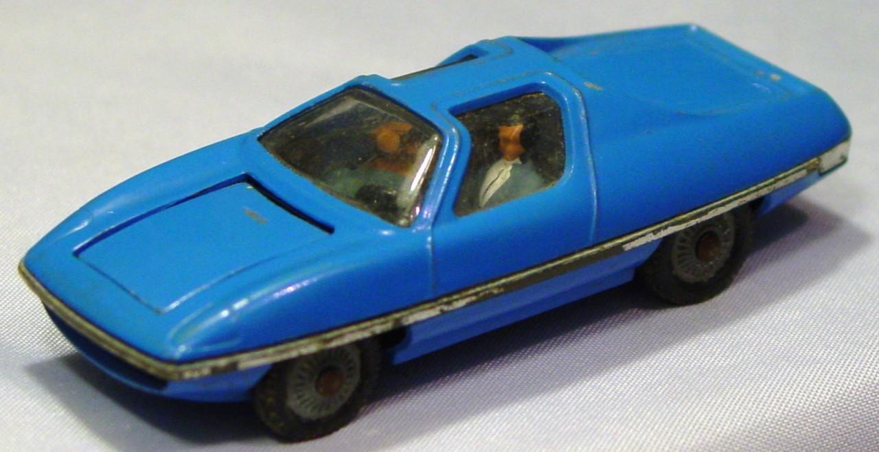 Husky-Corgi Jr 1005 A 1 - HUSKY Man Fron UNCLE Blue -missles/figures