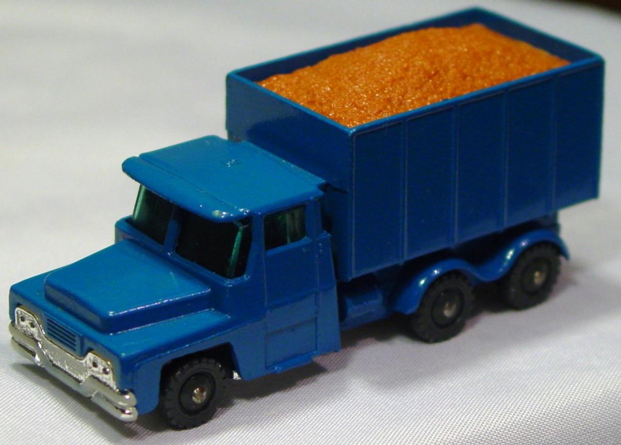 Husky-Corgi Jr 13 A 2 - HUSKY Sand Truck Blue