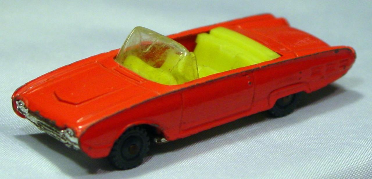 Husky-Corgi Jr 8 A 1 - HUSKY Ford T-Bird Conv light Red