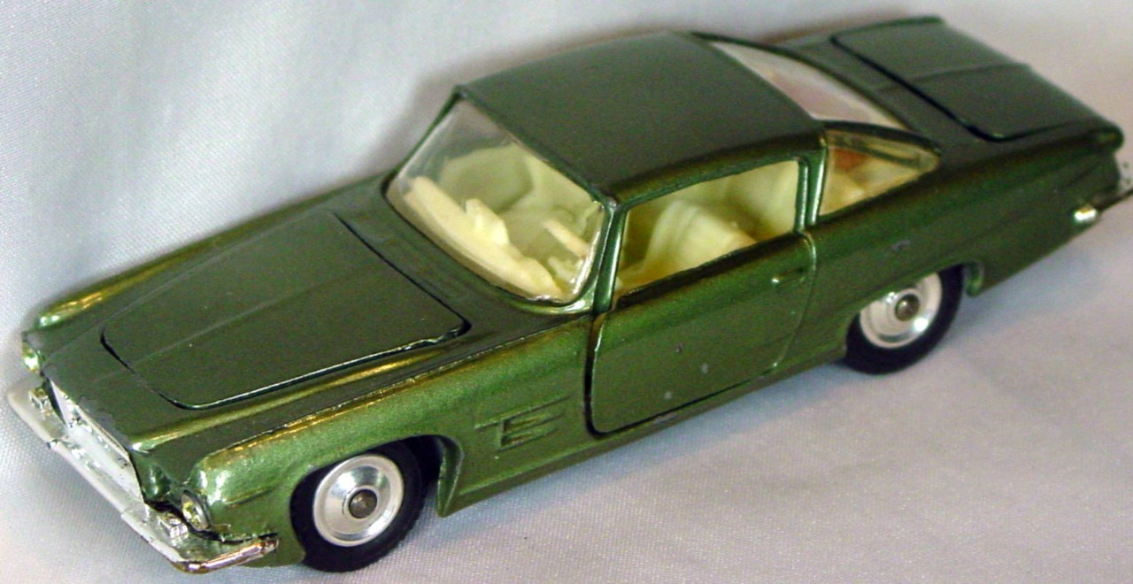 Corgi 241 A 1 - Ghia L6.4 light met Green