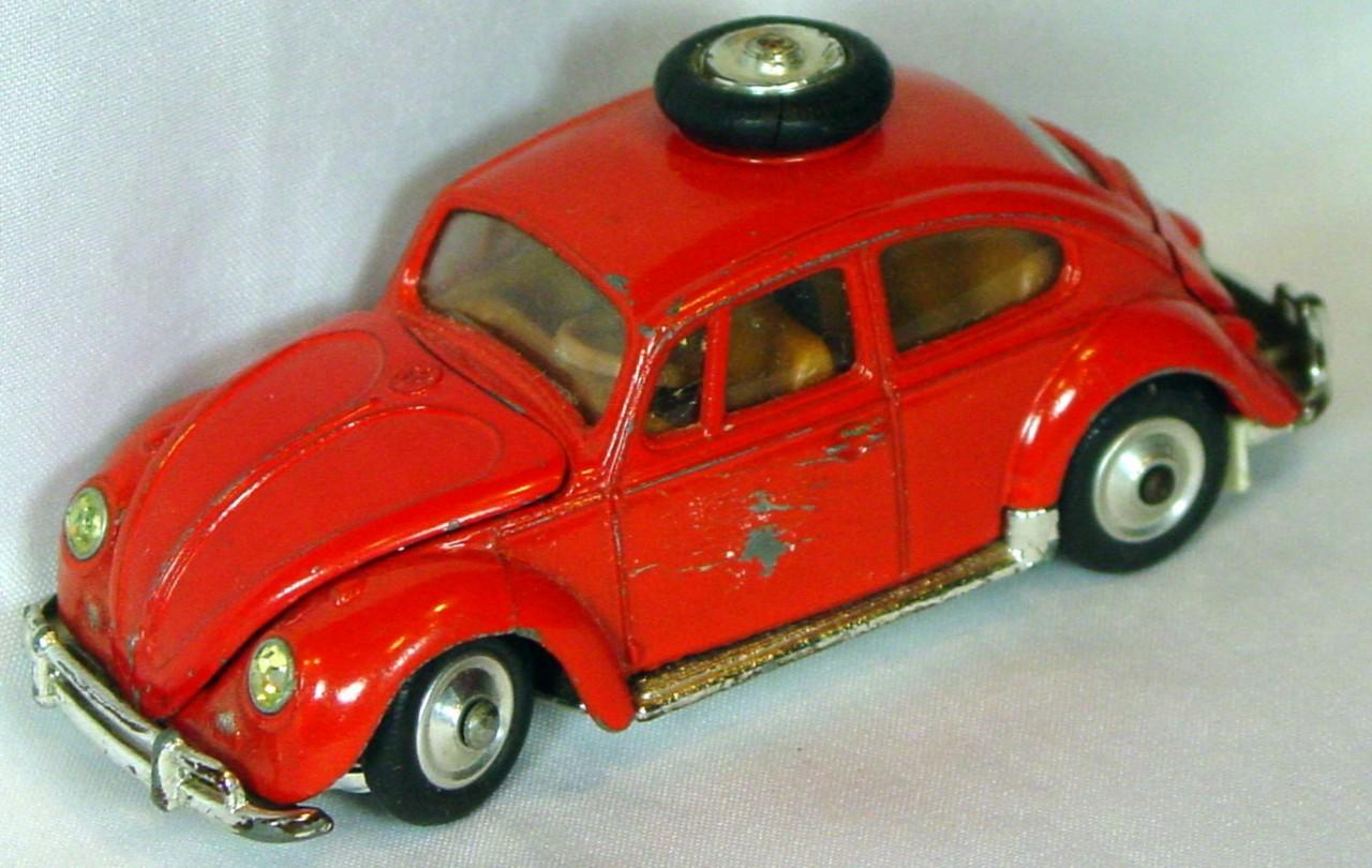 Corgi 256 A - VW Beetle Rally East African Safari -labels -rhino