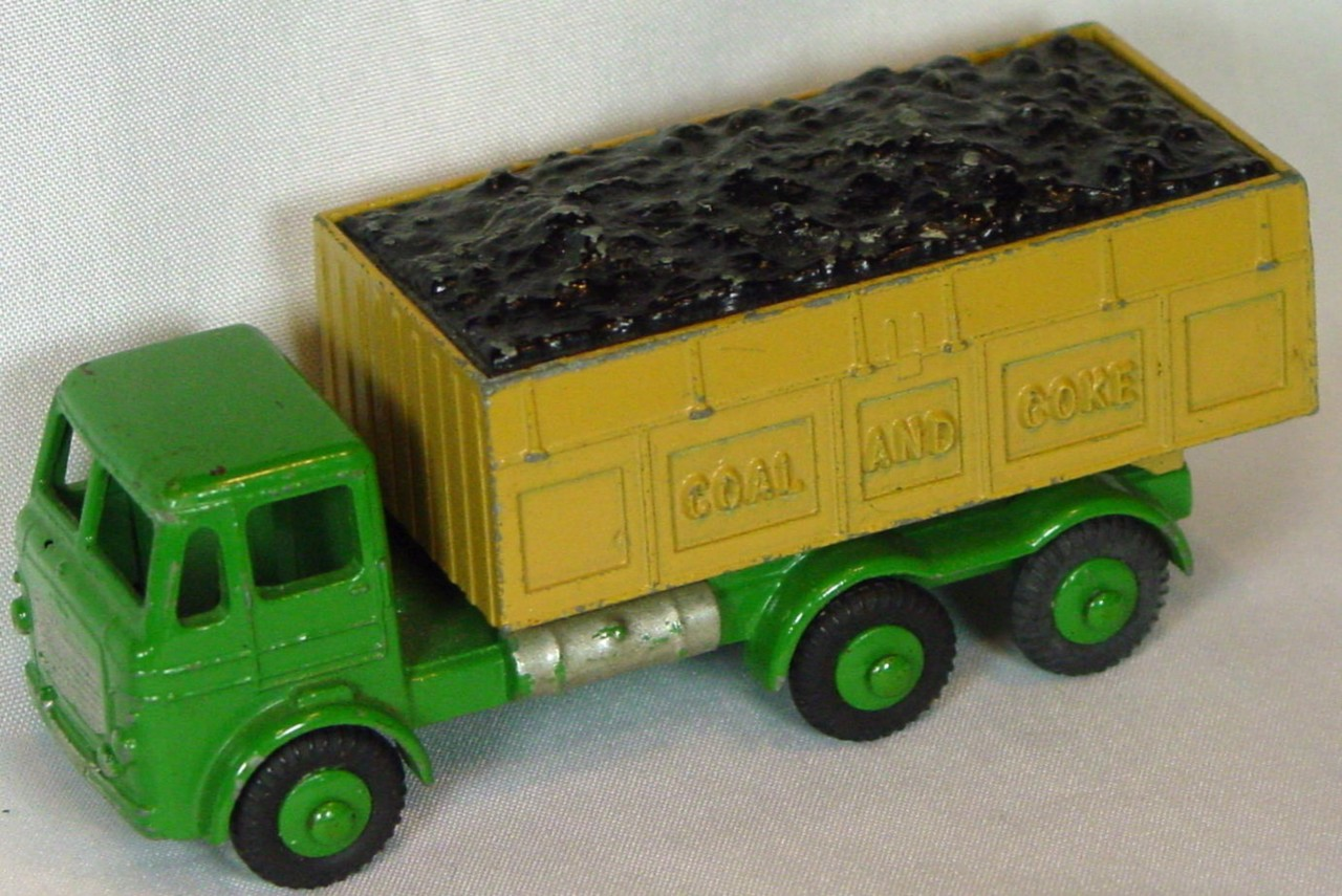 43 - BUDGIE 206 Leyland Hippo Coal truck Green and light brown