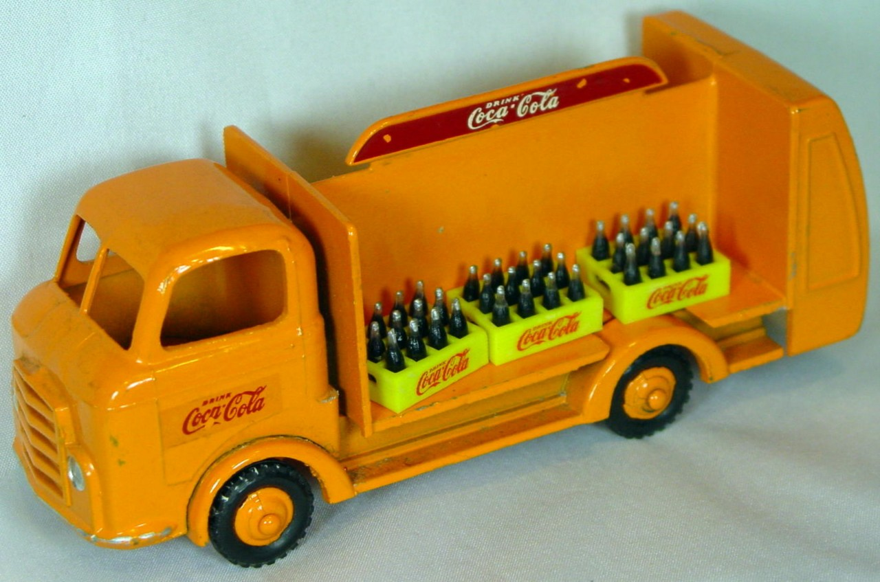 43 - BUDGIE 228 Karrier Bottle truck Orange Coke 6repcrates?