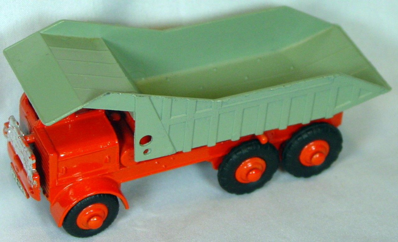 43 - MORESTONE Foden Heavy Duty Dumper Orange and Grey one slight chip