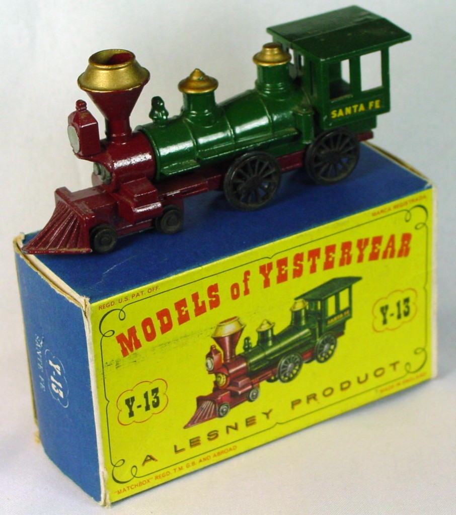 Models of YesterYears 13 A 2 - Santa Fe green rivet gold cond tops Very Near Mint C8.5 B MILL8