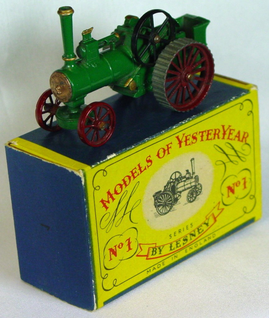 Models of YesterYears 01 A 1 - Allchin STRAIGHT TREADS! three slight chips C9+ A box MILL1