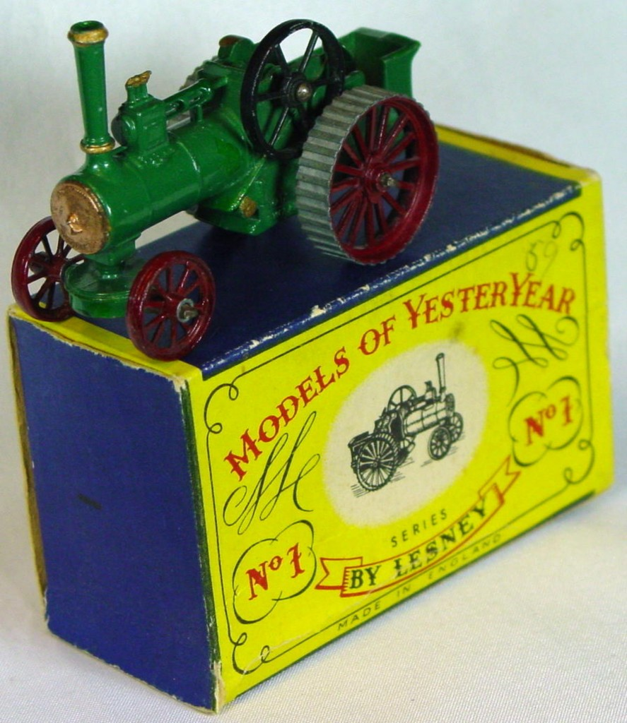 Models of YesterYears 01 A 1 - Allchin STRAIGHT TREADS! (Very Near Mint) C9- A box MILL1