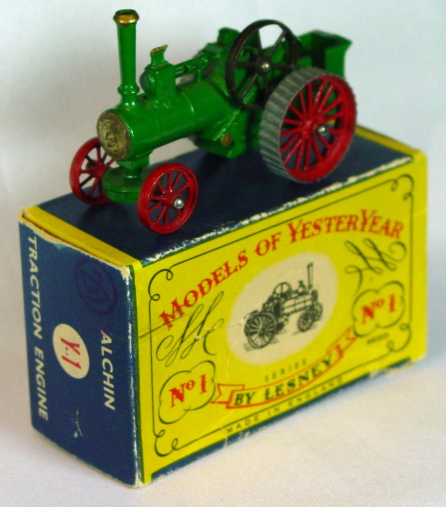 Models of YesterYears 01 A 4 - Allchin gold boil 11 slats two slight chips rounded axles C7 C box MILL17
