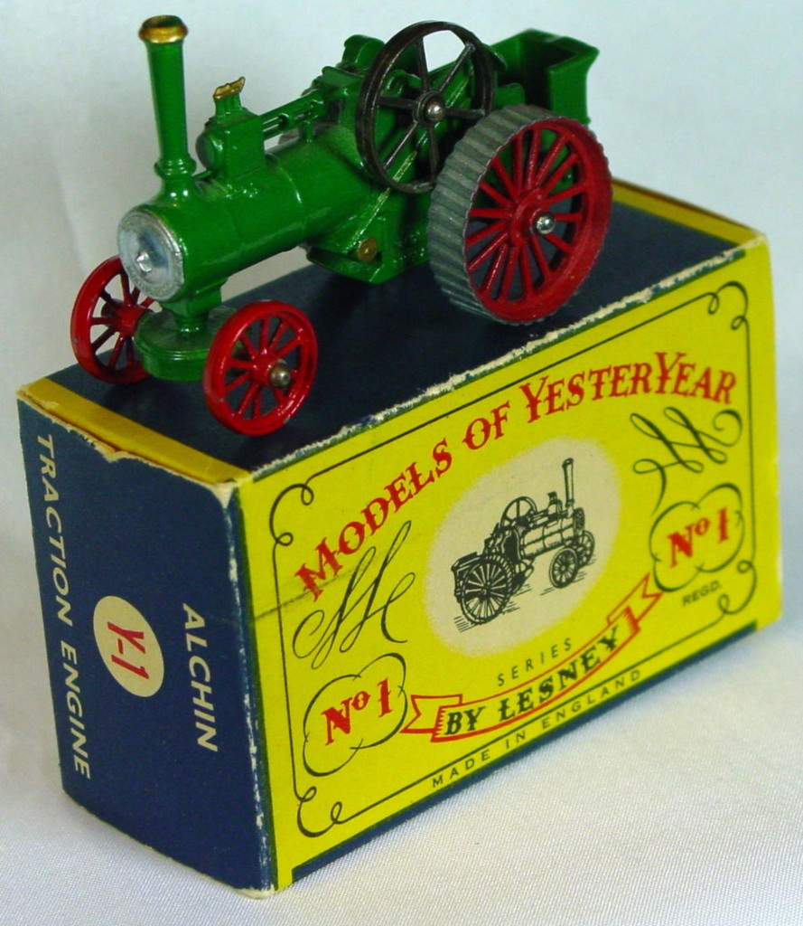 Models of YesterYears 01 A 7 - Allchin Silver Boiler three slight chips C9+ C box MILL19