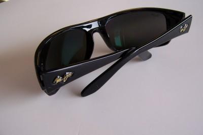 Brand New In Box Maui Jim 202 02 PEAHI Sunglasses BLACK