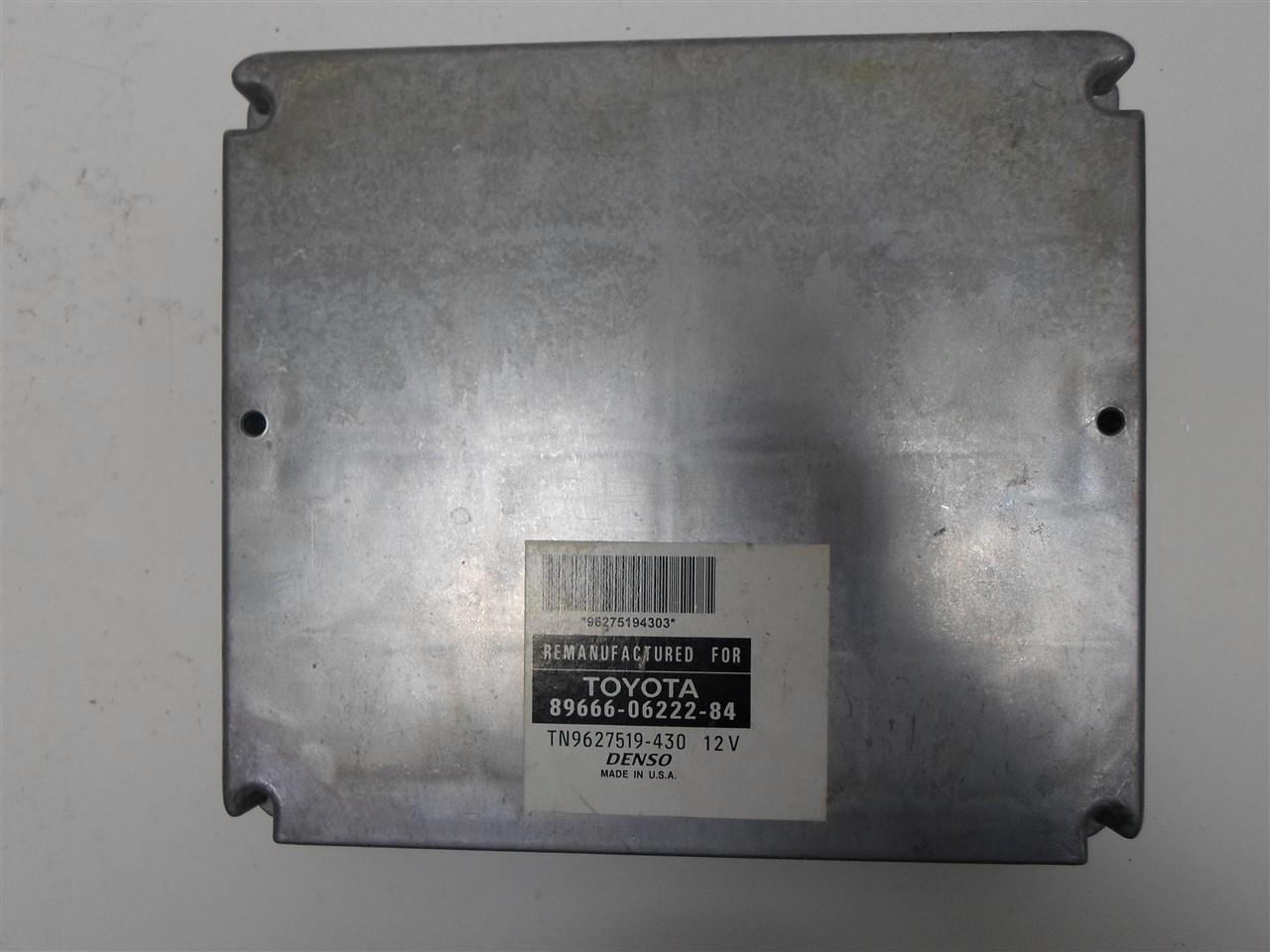 Details About Engine Computer Toyota Camry 2002 89666 06222 84 Pcm Ecm Ecu Oem