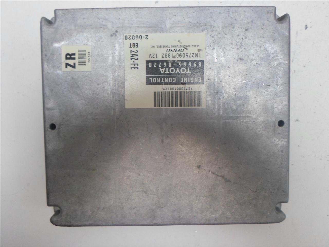 Details About Engine Computer Toyota Camry 2002 89666 06220 Pcm Ecm Ecu Oem