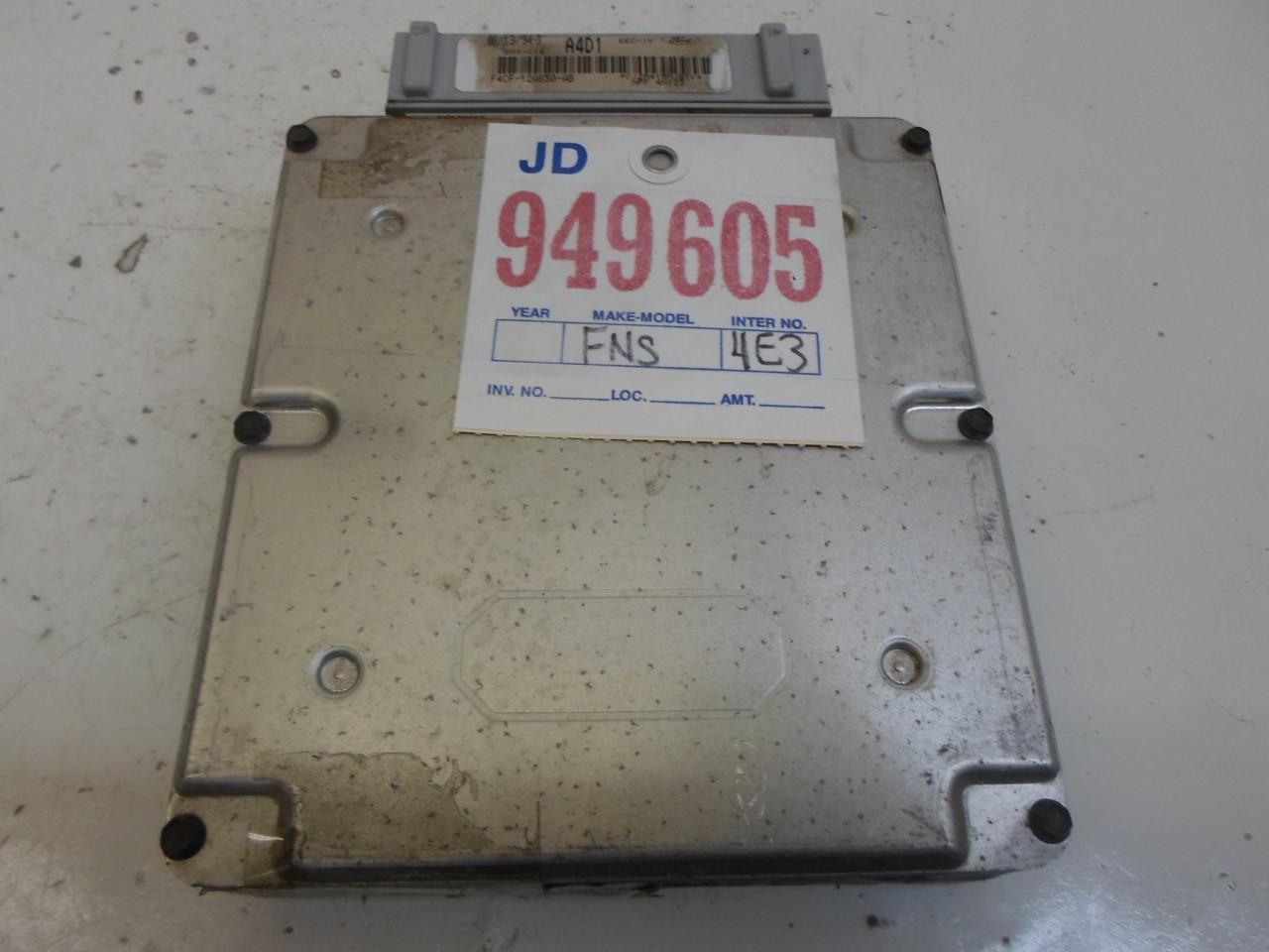 1994-1995 Ford Escort or Tracer ecm ecu computer F5CF-12A650-LA