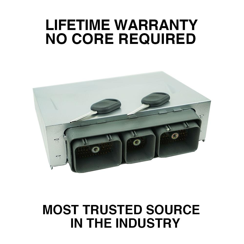 FORD OEM ENGINE CONTROL MODULE UNIT ECU ECM PCM CZW1 5C5A-12A650-CB