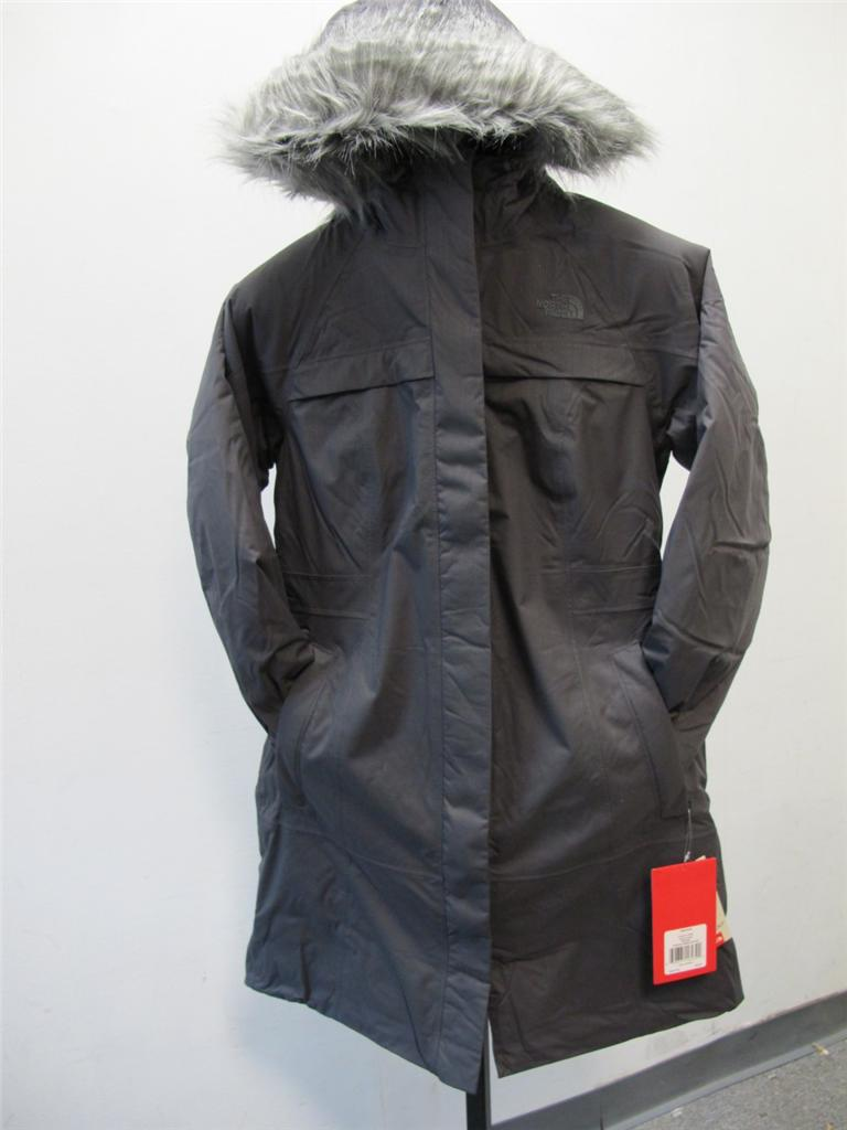new women 39 s north face arctic parka graphite grey. Black Bedroom Furniture Sets. Home Design Ideas