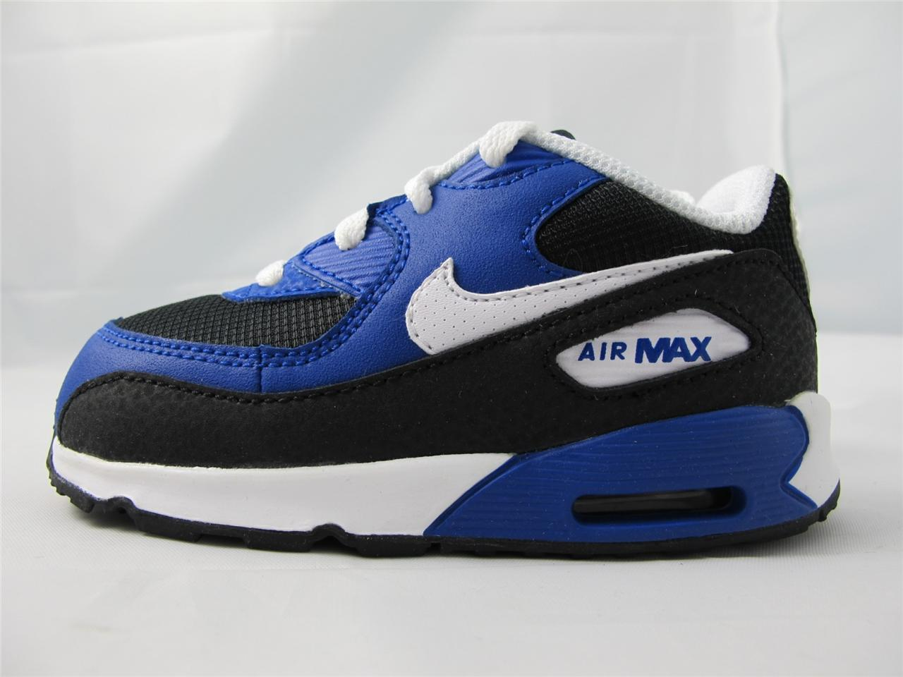 b2c958740b88 Nike Air Max 90 White Hyper Blue Black
