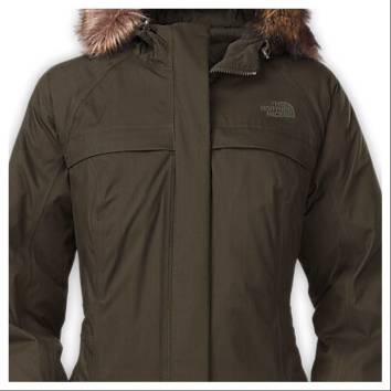 new women 39 s the north face arctic parka jacket coat 550. Black Bedroom Furniture Sets. Home Design Ideas