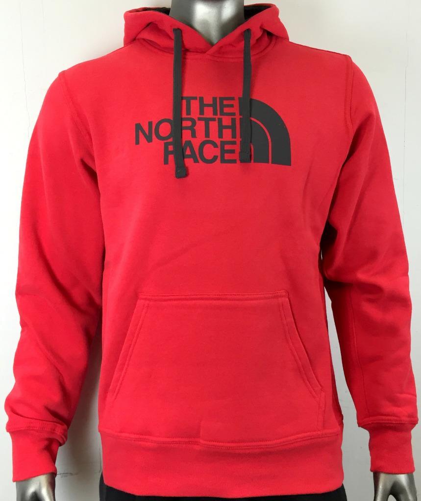 new the north face men 39 s half dome logo fleece pullover. Black Bedroom Furniture Sets. Home Design Ideas