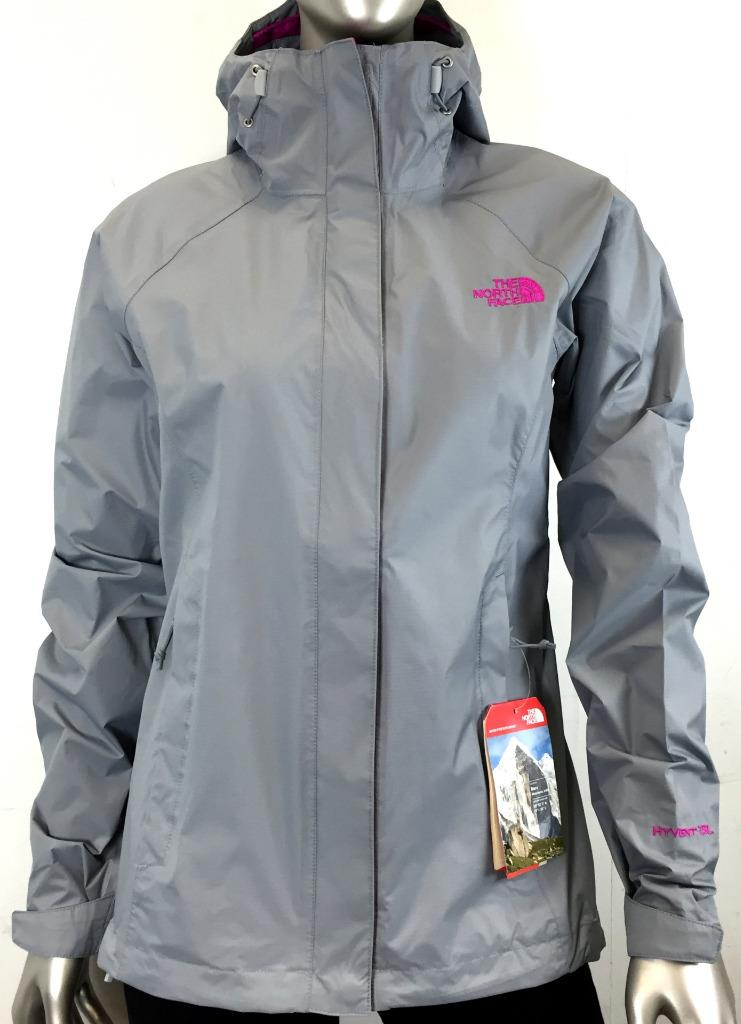 North face women's venture jacket red