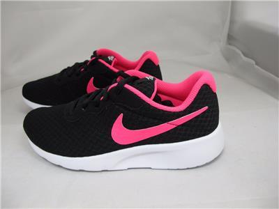 New Nike Kids Youth Tanjun GS Gray//Blue  School//Running Shoe 4-6 Y