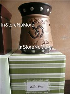1 Scentsy Full Size Warmer Western Cowboy Horse Shoe