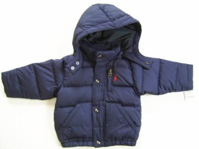 New Ralph Lauren POLO Boys Winter Coat Blue 12 Months   eBay