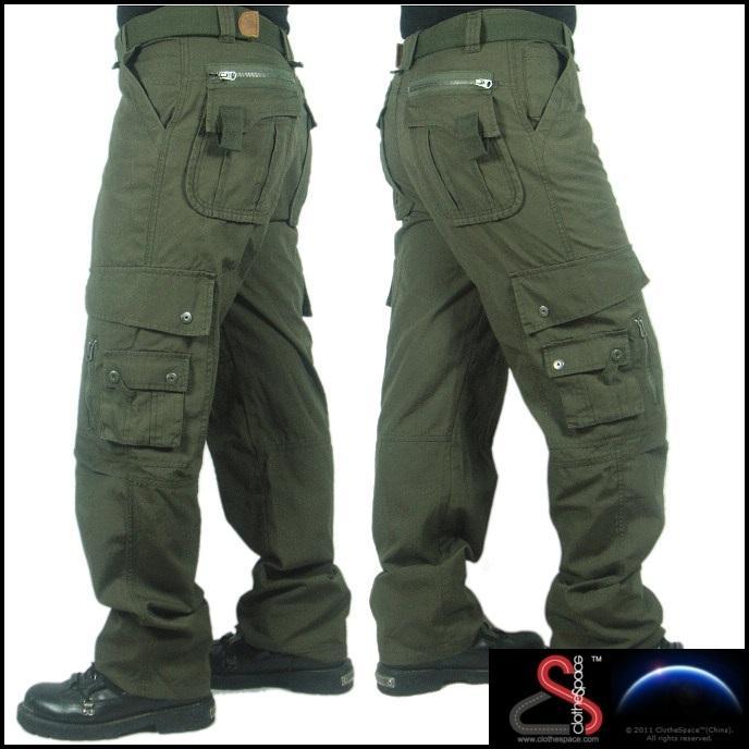 Military Green Cargo Pants Vpi Pants