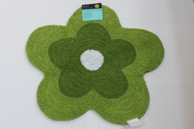 Daisy Flower Shaped Bath Rug