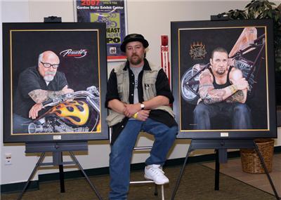 Artist John Guillemette
