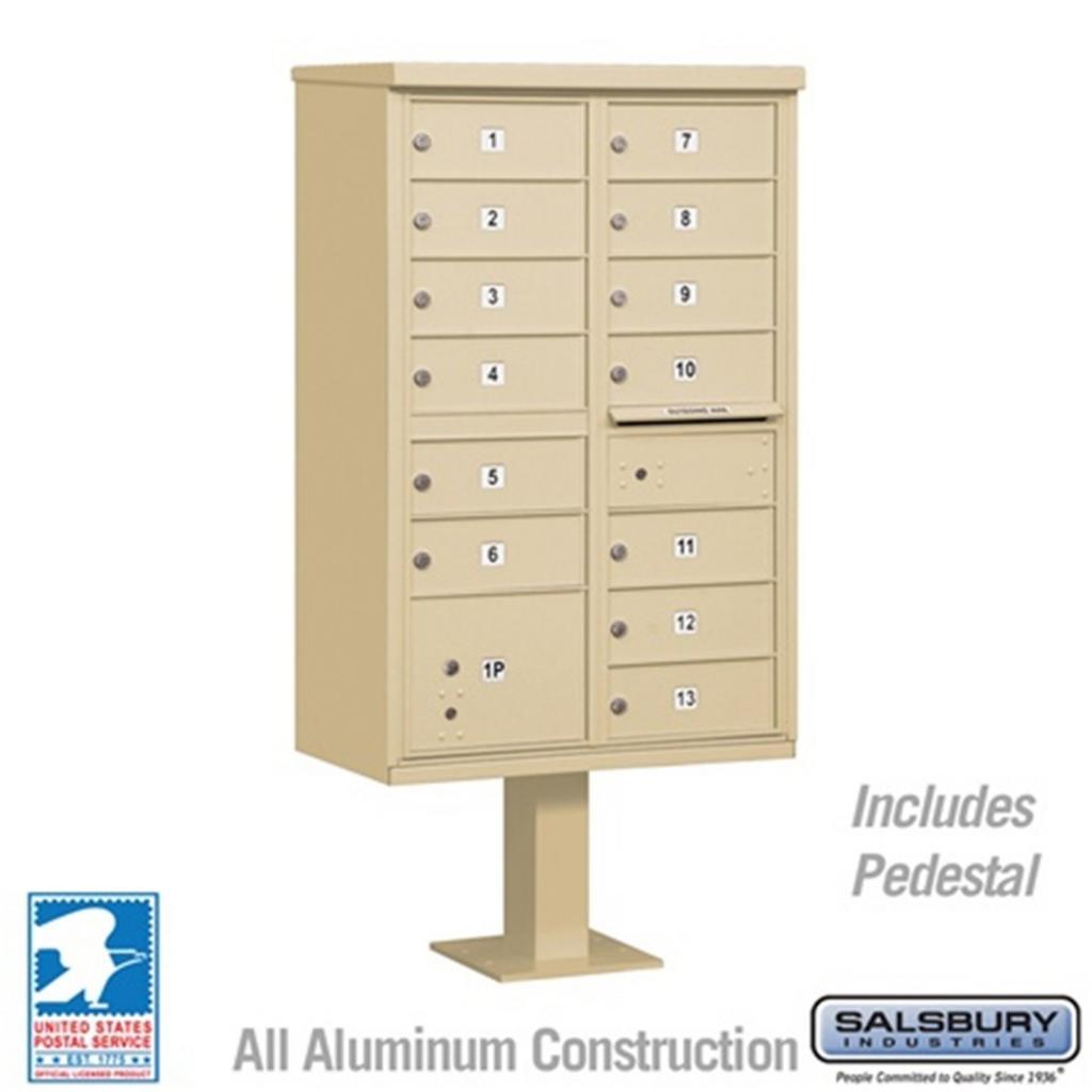 Apartment Unit: Salsbury Commercial CBU Cluster Box Unit Apartment Mailbox
