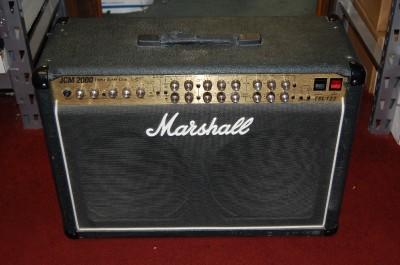 marshall jcm 2000 triple super lead tsl 122 2x12 combo guitar tube amp amplifier ebay. Black Bedroom Furniture Sets. Home Design Ideas