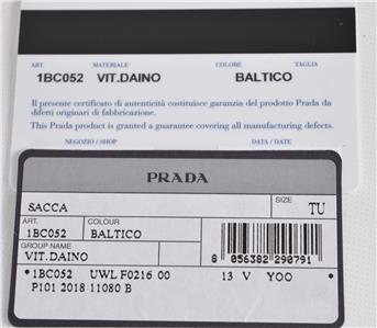 d8a3cf665b88 PRADA VERO PLEASE KNOW THAT A RECEIPT FROM THE PRADA RETAIL LOCATION WILL  HAPPILY BE PRESENTED IF ASKED.