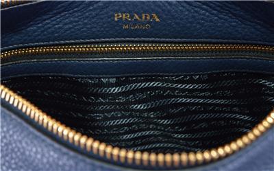 1f6cd0fa3507 New Prada 1BC052 Baltico Soft Leather Daino Stripe Strap Crossbody ...