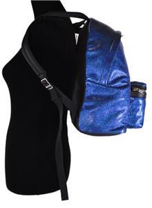 New Saint Laurent YSL 435988 Metallic Glitter Blue City Hunt ... 6587dc99074a6