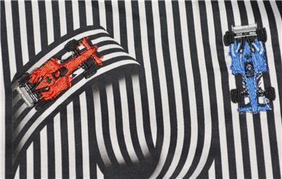 NEW Robert Graham $248 TRANSMISSION Printed Car Parts Illusion Sport Shirt