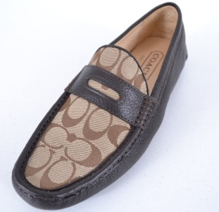 Coach Neal Signature Loafers Mens Shoes