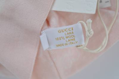 928eabd34a8aa New Gucci Baby 283133 Pink Stripe Reversible GG Beanie Hat Cap ...