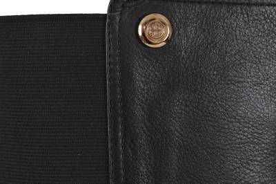 68abb06bafe8 NEW Tory Burch Sullivan Black Tumbled Leather Knee High Boots Shoes ...