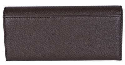 af1f00fbac4 New Gucci Women s 274419 Brown Leather Continental Clutch Wallet
