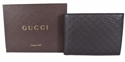 2d0d44563c8c NEW Gucci Men's 278596 Brown Micro GG Guccissima Large Bifold Wallet ...