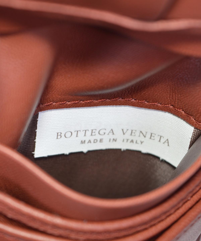 2f43cd6575 NEW Bottega Veneta Men s 148324 Russet Woven Leather Bifold Wallet W ...
